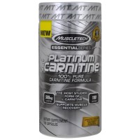 MUSCLETECH Platinum 100% Carnitine (180 caps)