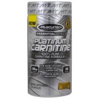 MUSCLETECH Platinum 100% Carnitine (180 Kaps)