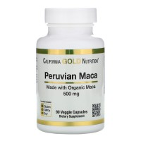 California Gold Nutrition Peruvian Maca 500mg (90 caps)