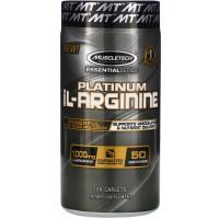 MUSCLETECH Platinum 100% l-Arginine (100 caps)