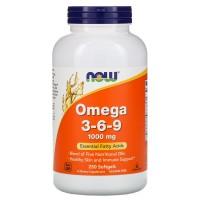 Now Foods Omega 3-6-9 1000mg (250 Kaps)