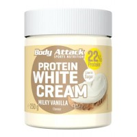 Body Attack Protein White Cream Milky Vanilla (250g)