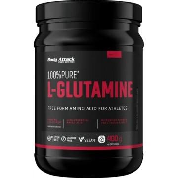 Body Attack 100 % Pure L-Glutamine (400g)