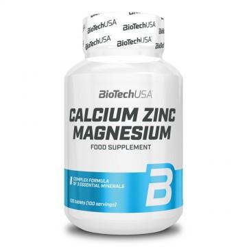 BioTech USA Calcium Zinc Magnesium (100 caps)