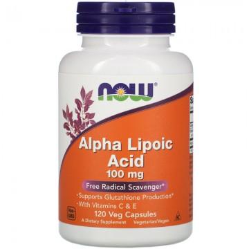 Now Foods Alpha Lipoic Acid 100 mg (120 caps)