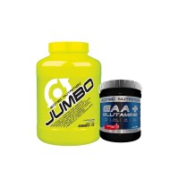 SN Jumbo (2860 g) + SN EAA + Glutamine (300g)