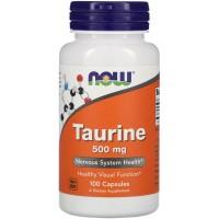 Now Foods Taurine 500 mg (100 caps)