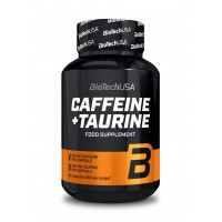 BiotechUSA Caffeine + Taurine (60 caps)