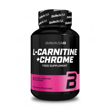 BiotechUSA L-Carnitine + Chrome (60 caps)
