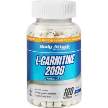 Body Attack L-Carnitine 2000  (100 Caps)