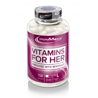 IronMaxx Vitamins for Her (150 caps)