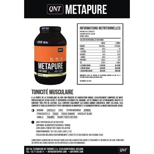 3f2909b26 QNT Metapure Zero Carb (908 g) - KOSPORT