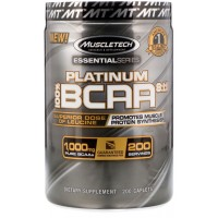Muscletech 100% Platinum BCAA 8:1:1 (200 caps)